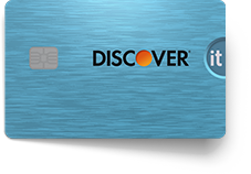 Discover it cash credit card blue